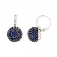 Orecchino con diamanti e pietre naturali - E34383A4