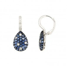 Orecchino con diamanti e pietre naturali - E34789B-1