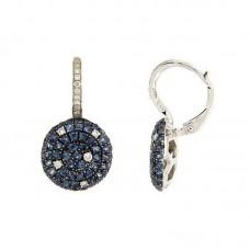 Orecchino con diamanti e pietre naturali - E34792C.1