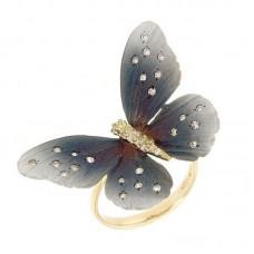 Anello con diamanti - G1011R-BLC