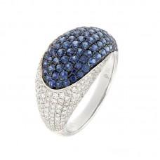 Anello con diamanti e pietre naturali - R27708B1