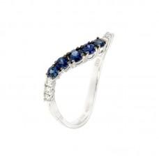 Anello con diamanti e pietre naturali - R35435A-11