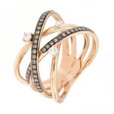 Anello con diamanti  - R39616-7
