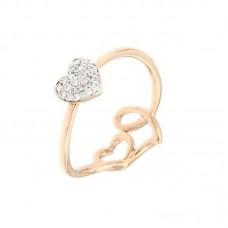 Anello con diamanti  - R39737-3005